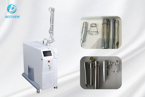 China 10600nm CO2 Fractional Laser Machine /  Vaginal Tightening Machine Adjustable Power factory